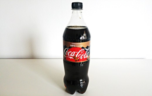 Coca Cola Zero 500 ml smak cynamonowy