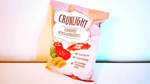 Crunlight chrupki wielozbożowe - smak pomidor z bazylią