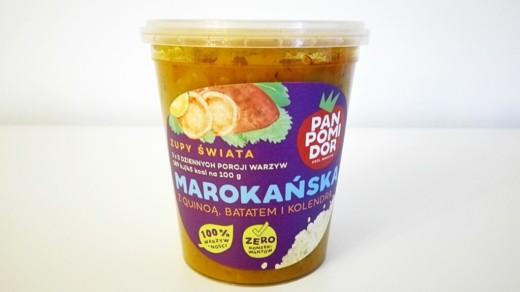 Pan Pomidor Zupa Marokańska