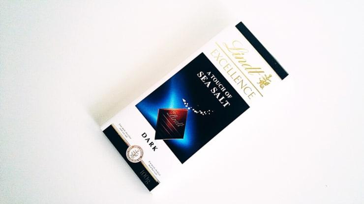 Czekolada Lindt Excellence Sea Salt (z solą morską)