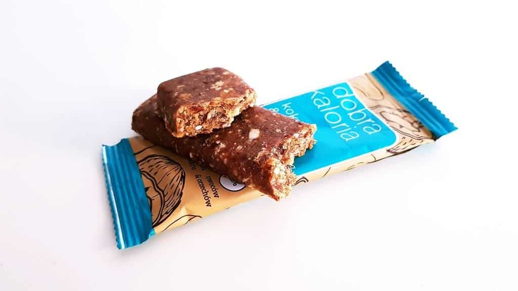 Baton Dobra Kaloria (kokos i orzech) - wygląd produktu