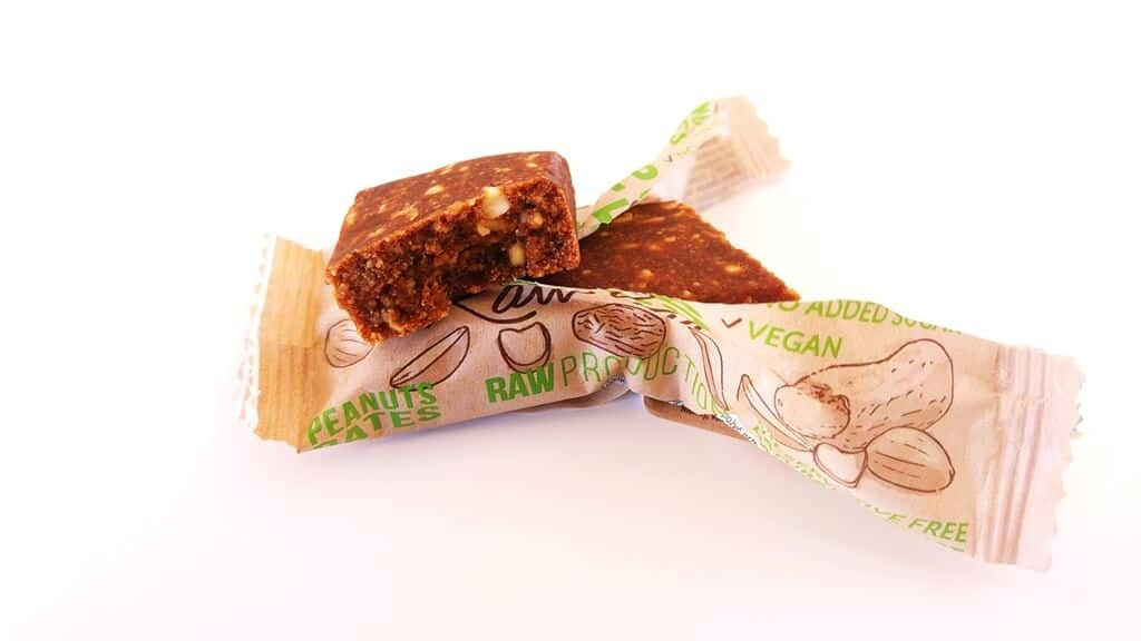 Peanuts Dates Raw Bar Alesto - wygląd produktu