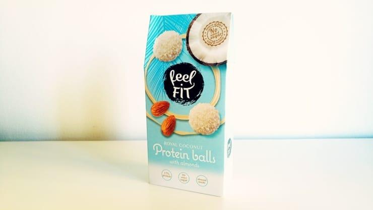 Protein Balls Coconut - kulki proteinowe z migdałem