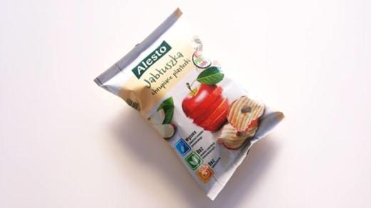 Jabłuszka chrupiące plasterki, Alesto