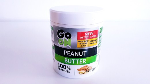 Masło orzechowe GO ON (smooth) 470 g