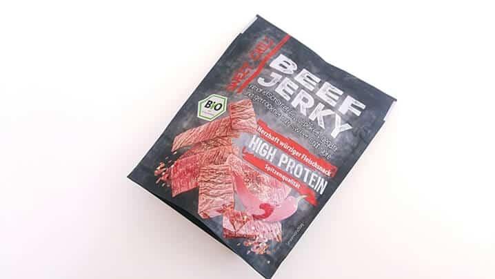 Suszona wołowina Beef Jerky BIO (sweet chili)
