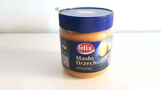 Masło orzechowe Felix kremowe