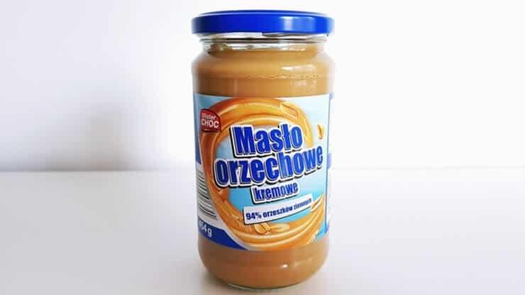 Masło orzechowe Mister CHOC (kremowe) z Lidla