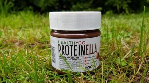 Proteinella HealthyCo - krem czekoladowy z orzechami laskowymi bez cukru
