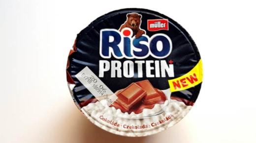 Müller Riso Protein - ryż proteinowy o smaku czekoladowym