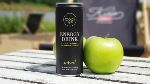 Natural Energy Drink, Foods by Ann - naturalny napój energetyczny o smaku jabłkowym