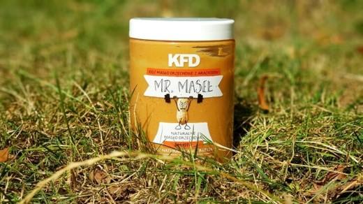Masło orzechowe KFD 100% (smooth)