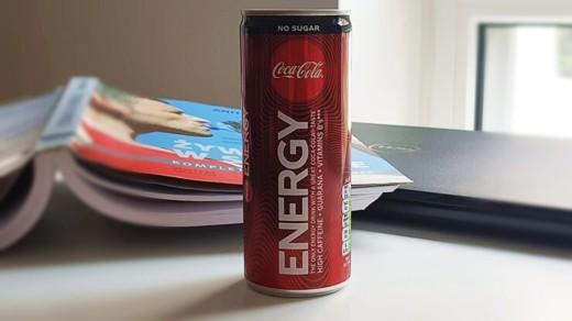 Coca Cola Energy Zero (bez cukru)