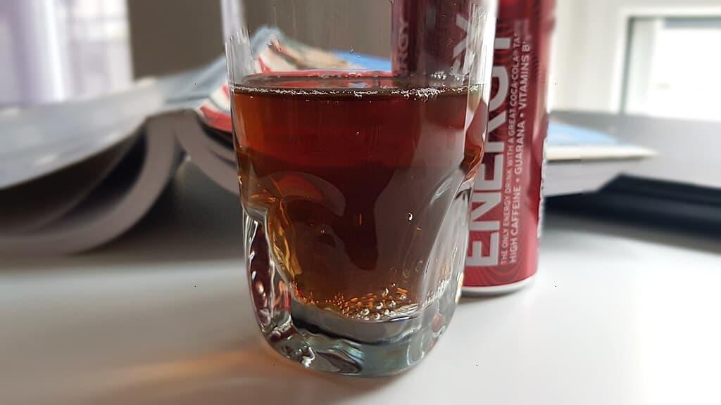 Coca Cola Energy Zero (bez cukru) - wygląd napoju