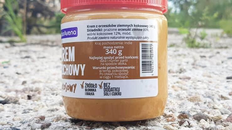 Krem orzechowy kokosowy NaturAvena - skład
