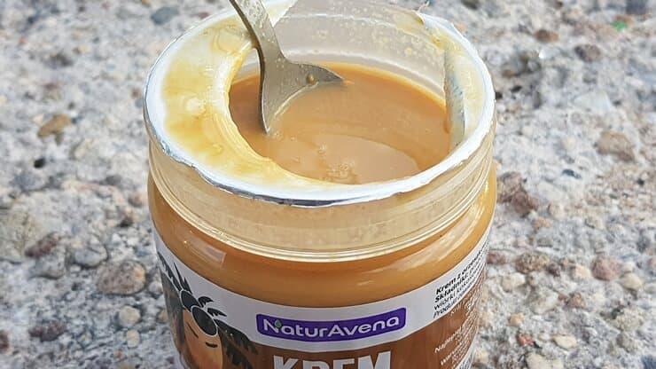 Krem orzechowy kokosowy NaturAvena - wygląd produktu