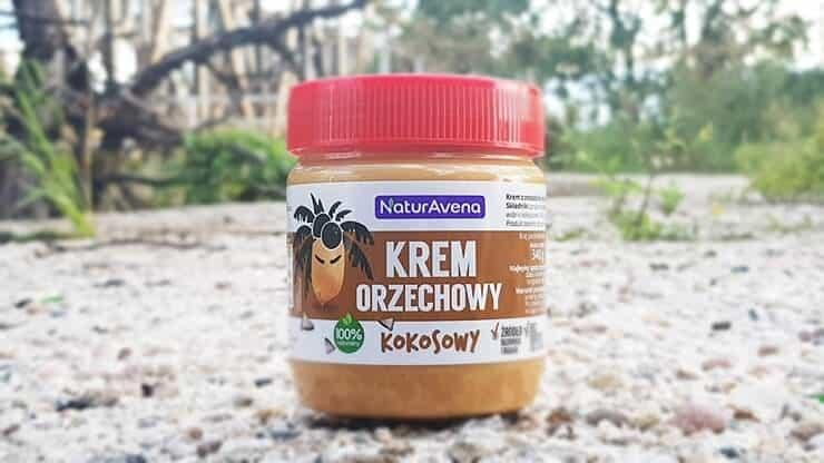 Krem orzechowy kokosowy, NaturAvena