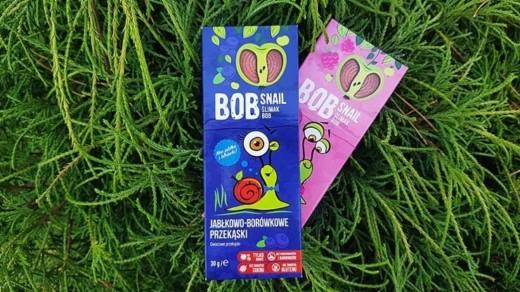 Przekąski owocowe BOB SNAIL - jabłko & borówka i jabłko & malina