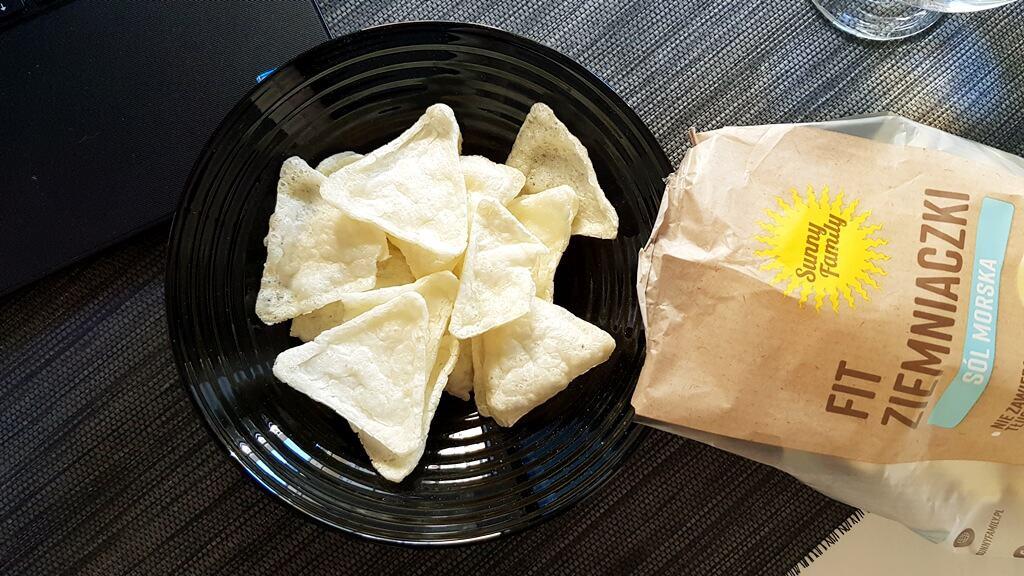 Fit Ziemniaczki Sunny Family (sól morska) - wygląd chipsów