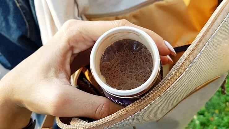 Napój proteinowy Mleczna Dolina (czekoladowy) - jak wygląda?