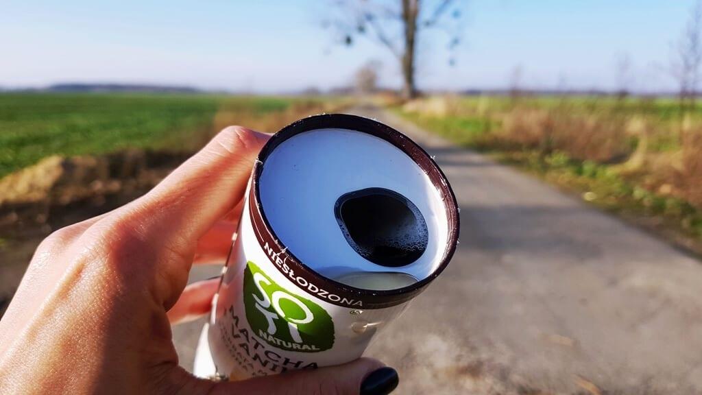 SOTI Natural Matcha + Vanilla - wygląd napoju