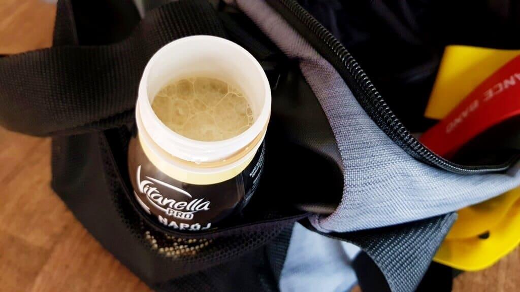 Napój mleczny PROTEIN, Vitanella PRO (waniliowy) - wygląd napoju