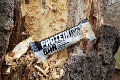 Baton proteinowy Protein Bar 50%, Lidl (cookies & cream)