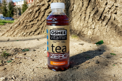 Oshee Vitamin Tea ZERO (brzoskwiniowa)