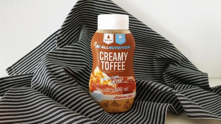 Sos AllNutrition Creamy Toffee - z SFD