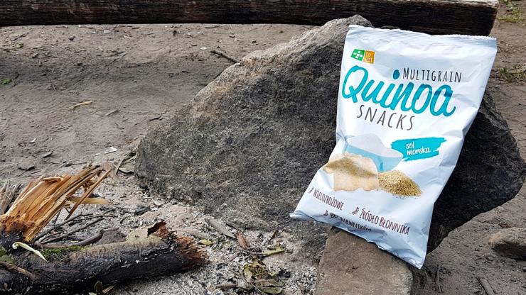 Quinoa Snacks, To Eat (sól morska)