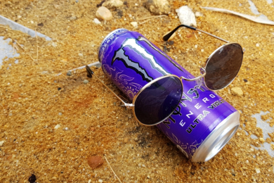 Monster Energy Ultra Violet (bez cukru)
