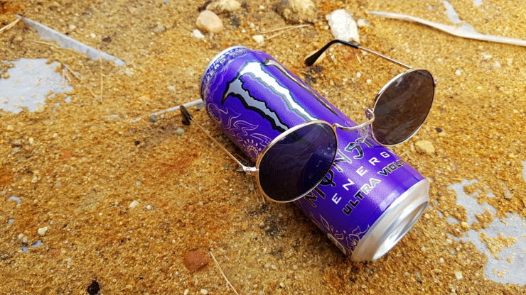Monster Energy Ultra Violet (bez cukru)