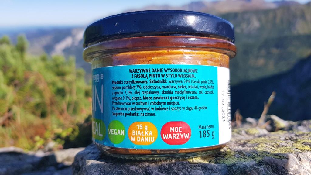 Feel FIT Protein Quick Meal (w stylu włoskim) - skład