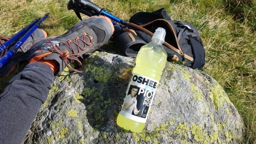 Oshee ZERO Lemon (napój izotoniczny) w Tatrach